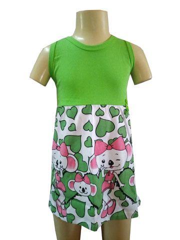 Kit 60 lindos vestidinho infantil - Foto 3