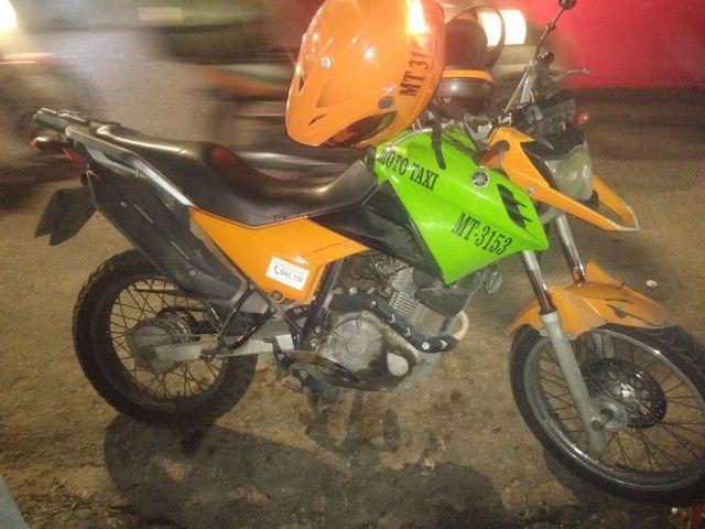 Vendo moto Yamaha crosser em bom estado  - Foto 2