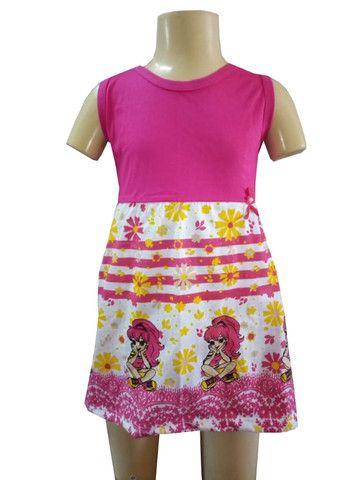 Kit 60 lindos vestidinho infantil - Foto 6