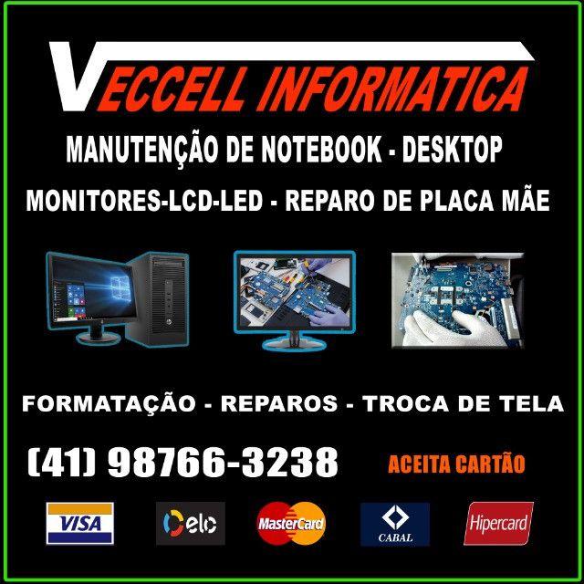 Troca de Tela IPhone, Manutenção de Celular,  Notebook, Formatação  - Foto 2