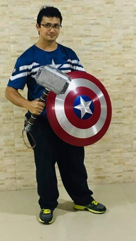 Martelo do Thor mijjorni tamanho real - Foto 6