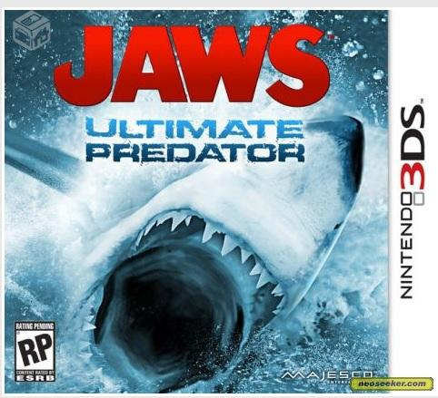 Jaws: Ultimate Predator - 3DS - R$70