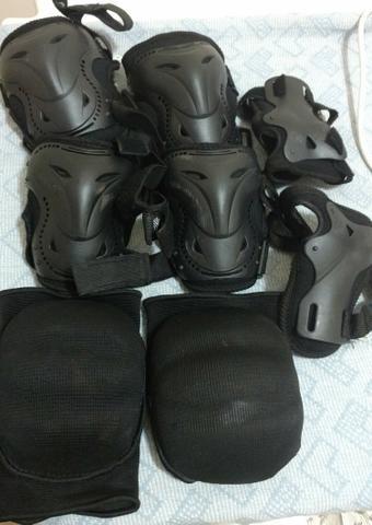 Kit Proteção Gonew para patins ou skate Tam M. Corumbá-MS