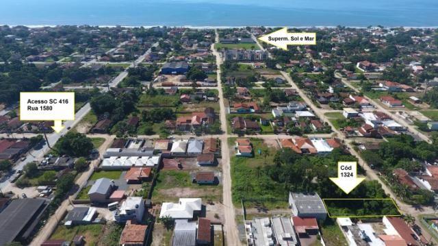 Terreno com 630m² (15x42m), no Balneário Itapoá - Anexo B1