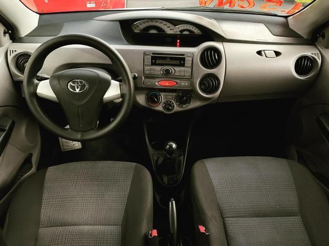 (Junior Veículos)Toyota Etios Sedan Xs 1.5 Completo+Gnv - Foto 7