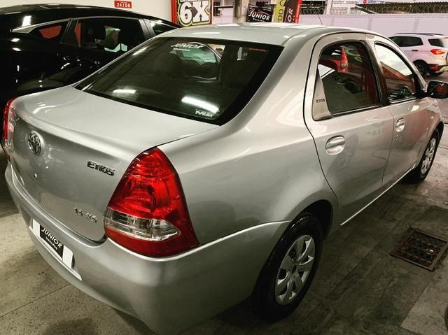 (Junior Veículos)Toyota Etios Sedan Xs 1.5 Completo+Gnv - Foto 5