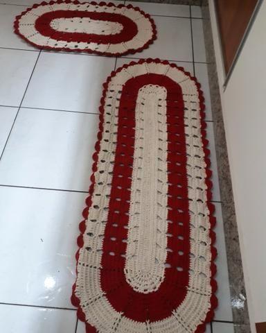 Vendo tapetes jogo com 2 peças 60.00 tem vários precos e tamanhos - Foto 3