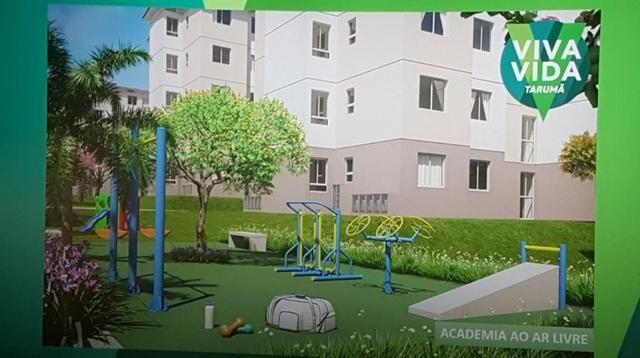 Apartamento Viva Vida Taruma 41m2 2Qtos - 128mil MCMV - Foto 7