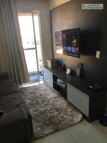 Apartamento com 3 dormitórios à venda, 60 m² por r$ 330.000 - parque bandeirante - santo a - Foto 5