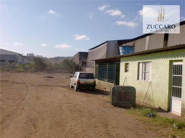 Terreno industrial para locação, vila nova bonsucesso, guarulhos - te0408. - Foto 4