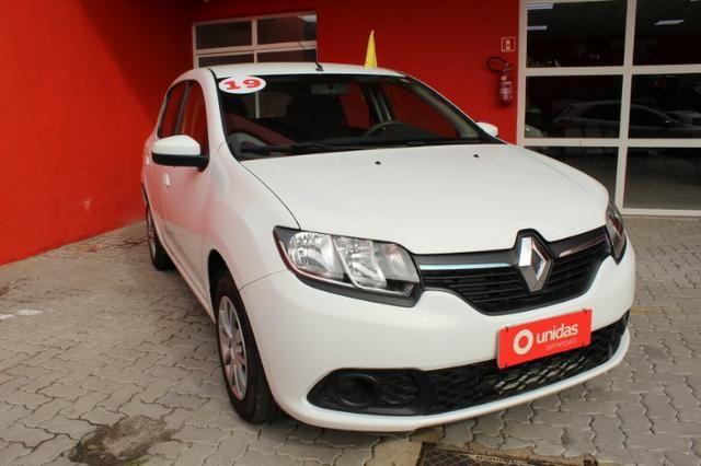 Renault Sandero Authentique 1.0 Completo 2019
