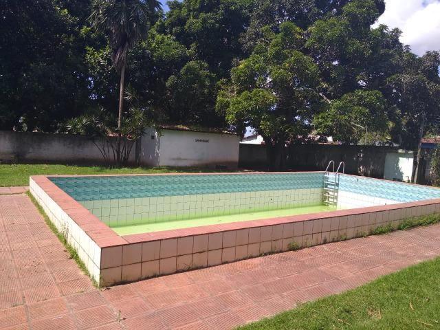 Terreno de 12.592m2 prox BR-406, RN, com casa, piscina e campos de futebol - Foto 11