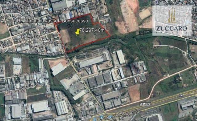 Terreno para alugar, 78297 m² por r$ 185.000/mês - vila nova bonsucesso - guarulhos/sp - Foto 6