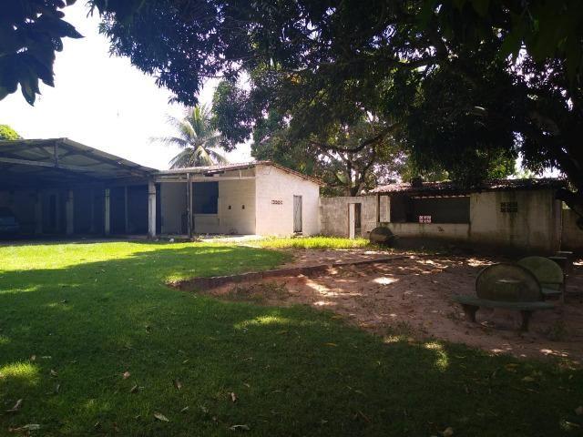 Terreno de 12.592m2 prox BR-406, RN, com casa, piscina e campos de futebol - Foto 5