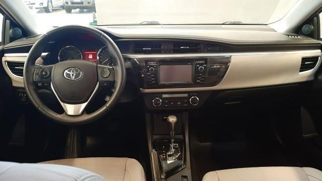 Toyota 2016/2017 Corolla xei 2.0 Automatico cinza completo confira - Foto 8