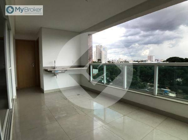 Apartamento com 3 dormitórios à venda, 113 m² por R$ 597.000,00 - Setor Bueno - Goiânia/GO - Foto 4