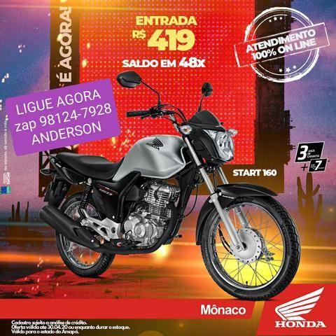 CG START 160 Lance R$ 4.500,00 - Foto 2