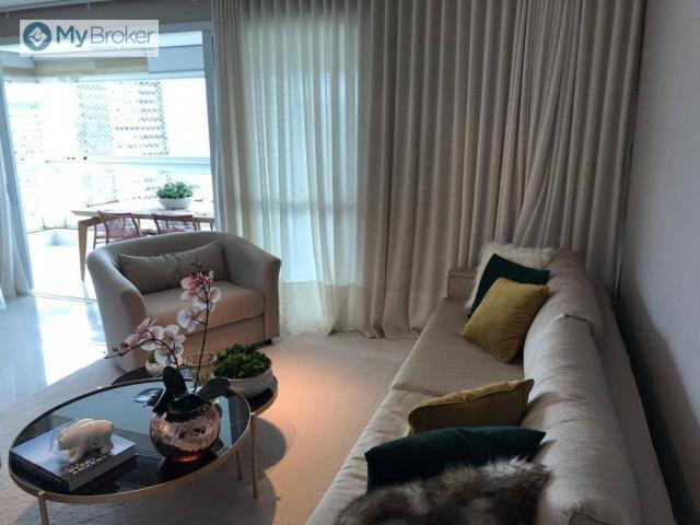 Apartamento com 4 dormitórios à venda, 163 m² por R$ 1.100.000,00 - Jardim Goiás - Goiânia - Foto 2