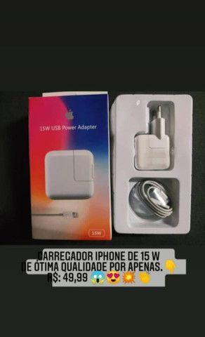 Carregador de iPhone original, aceitamos cartões e entrega grátis no Recife