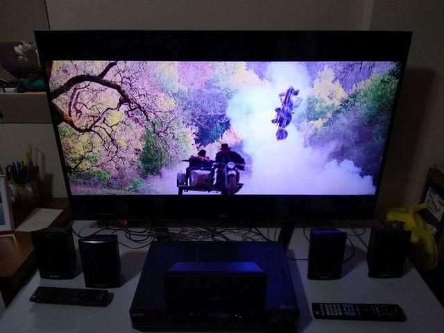 "TV LG 3D 47"" Full HD + Home Theater 5.1 Sony - Foto 5"