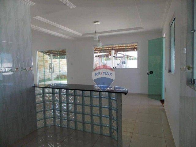 Casa com 4 dormitórios à venda, 322 m² por R$ 459.000,00 - Praia do Amor - Conde/PB - Foto 5
