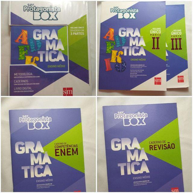 Livro Ser Protagonista Box Gramática - Ensino Médio