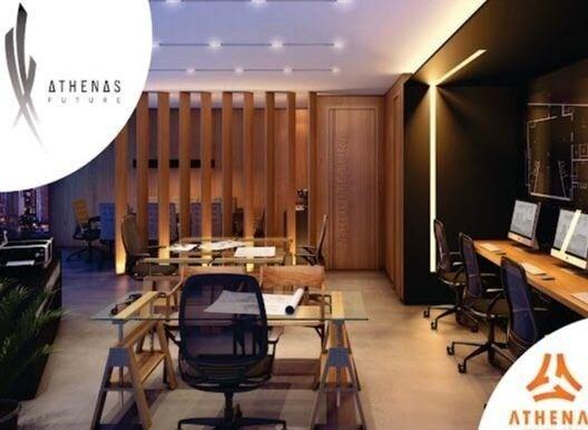 Residencial Athenas Future Living/ Apartamento 67,39m2/ 2 quartos (sendo 1 suíte)/ 1 vaga - Foto 2