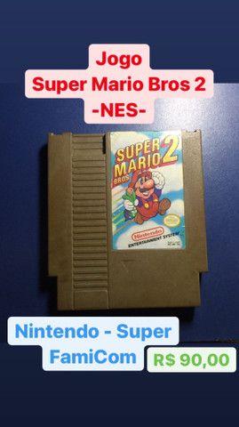Super Mario Bros - Nintendinho (NES)