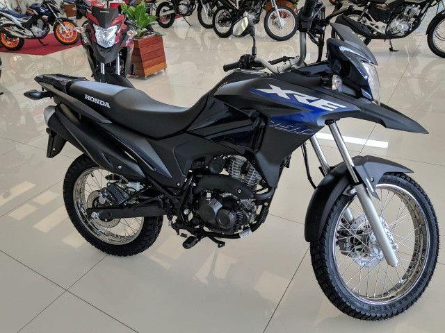 Moto Xre 190 atraves do cnh