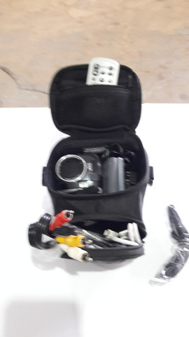 Filmadora JVC Everio 30gb Zoom 34x + Acessórios - Foto 5