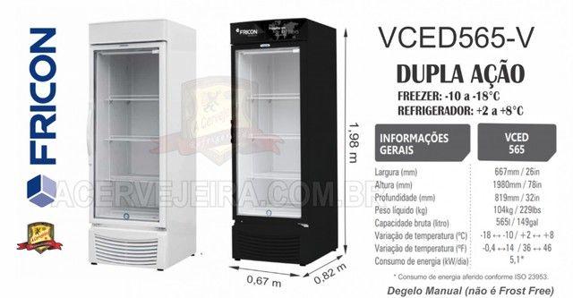 Freezer Vertical Fricon e Metalfrio - Foto 4