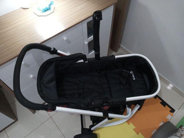 Carrinho de Bebê Mobi Black & White - Safety 1st<br> - Foto 5
