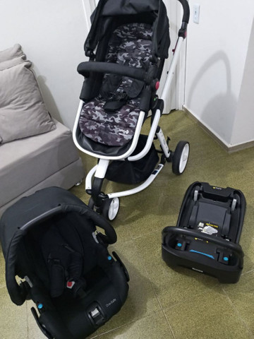 Carrinho de Bebê Mobi Black & White - Safety 1st<br> - Foto 6