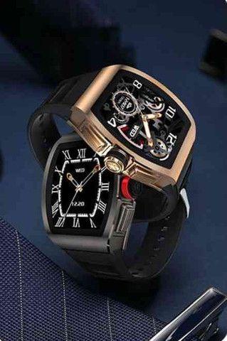Relógio inteligente M1 Magnum Watch a prova d'água ( android e IOS) - Foto 2