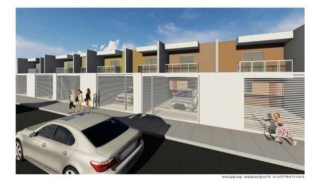 Linda casa de 2/4 com quintal e 2 vagas por R$ 269.000 em Jardim dos Alfineiros - Foto 2