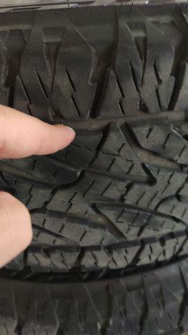 Jogo de rodas com pneus  - Foto 2
