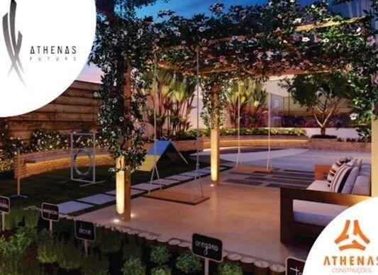 Residencial Athenas Future Living/ Apartamento 67,39m2/ 2 quartos (sendo 1 suíte)/ 1 vaga - Foto 16