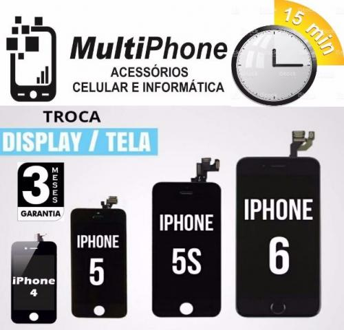 Display completo iPhone 4 5 6 Aplle a/p