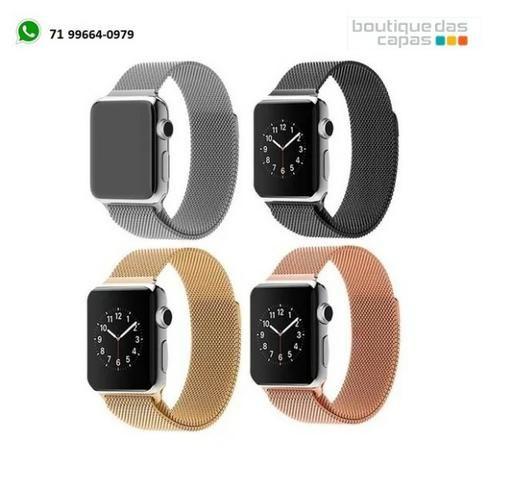 Pulseira Apple Watch Milanês Loop Magnética - 38mm / 42mm / 40mm / 44mm