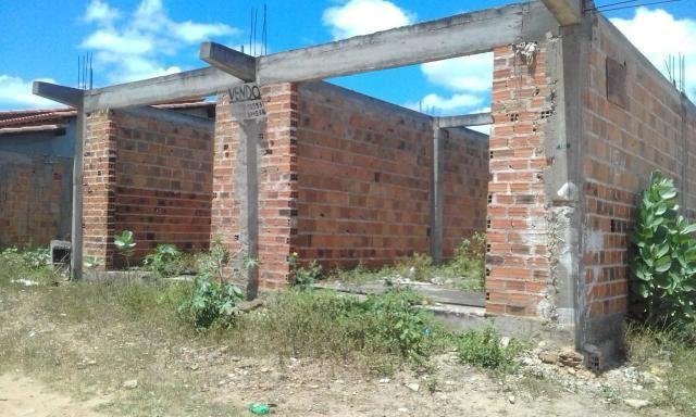 Vende-se construção em ponto de laje.Cipo-ba