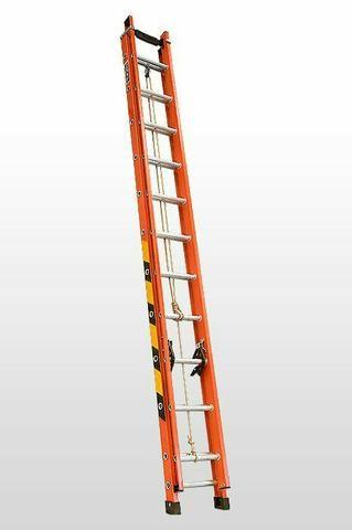 Escada de fibra extensível ( Recondicionado) - Foto 2