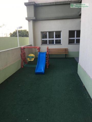 Apartamento com 3 dormitórios à venda, 60 m² por r$ 330.000 - parque bandeirante - santo a - Foto 13