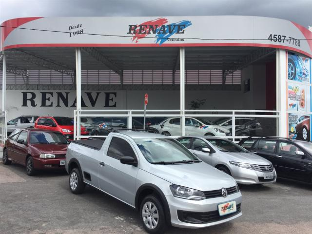 VOLKSWAGEN SAVEIRO 2015/2016 1.6 MI TRENDLINE CS 8V FLEX 2P MANUAL - Foto 2