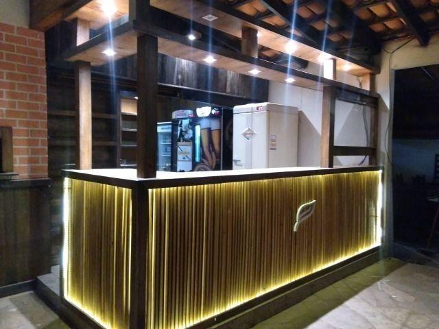 Balcão para Bares, Restaurantes e Lojas - Madeira - Foto 2