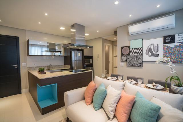 Apartamento à venda com 1 dormitórios em São francisco, Curitiba cod:0127/2020 - Foto 3