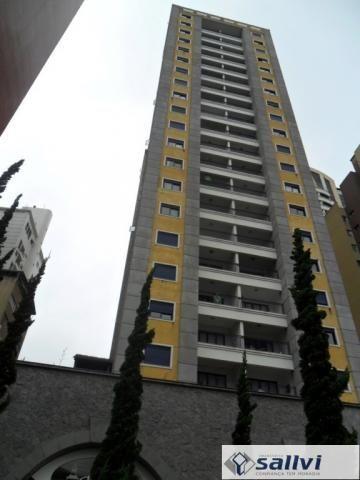 Apartamento para alugar com 1 dormitórios em Centro, Curitiba cod:03009.001