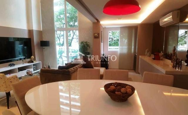 (ELI46095) Apartamento Duplex no Cocó 165m², 3 Suites, Todo Projetado, 3 Vagas