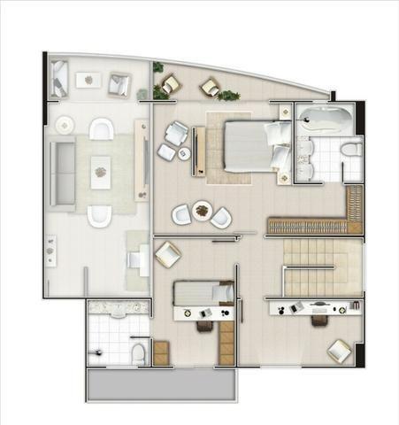 (ELI46095) Apartamento Duplex no Cocó 165m², 3 Suites, Todo Projetado, 3 Vagas - Foto 11