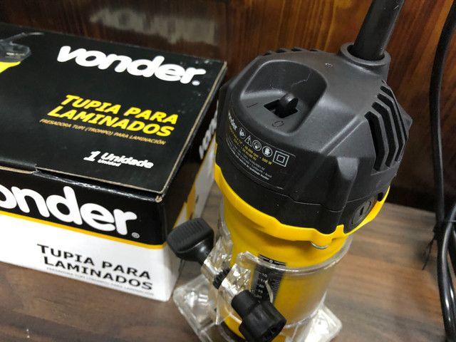 Tupia Laminadora Elétrica Manual Vonder 500w - Foto 3