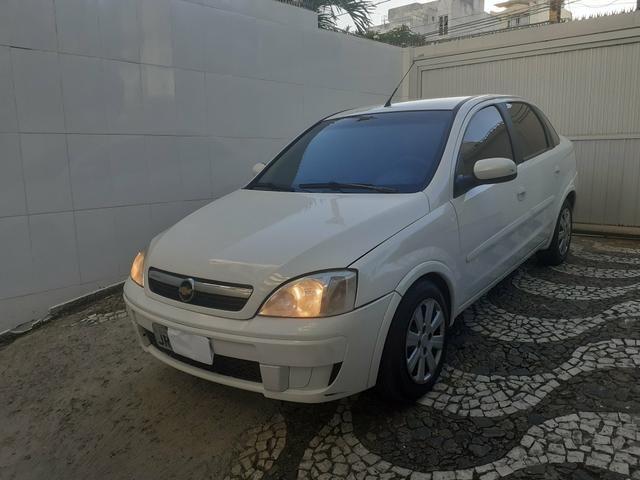 Chevrolet Corsa Sedan Premium 1.4 FLEX/GNV 2009 Completo Novo Pouco Uso - Foto 7